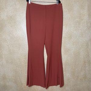 NEW Antonio Melani | Rustic Orange Flared Pants